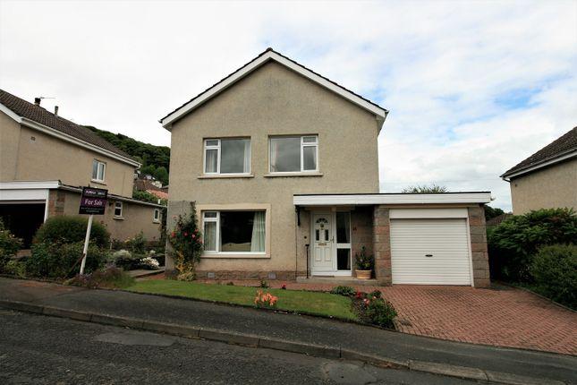 Thumbnail Detached house for sale in Langhaugh Gardens, Galashiels