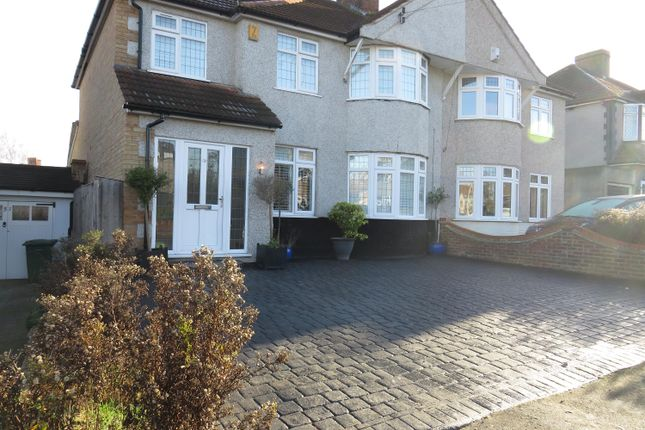 Thumbnail Semi-detached house for sale in Westwood Lane, Welling, Kent