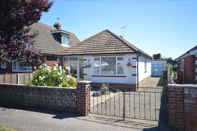Thumbnail Detached bungalow for sale in Park Square West, Jaywick, Clacton-On-Sea