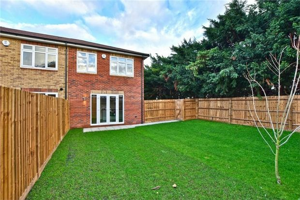 Thumbnail End terrace house for sale in Foxcroft, Thorney Lane North, Iver, Buckinghamshire