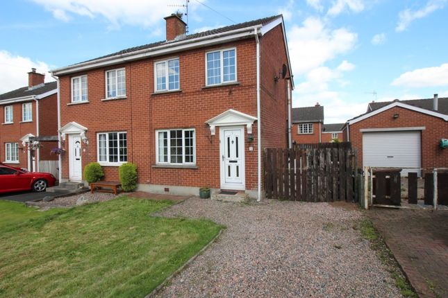 Thumbnail Semi-detached house for sale in Muskett Gardens, Carryduff, Belfast