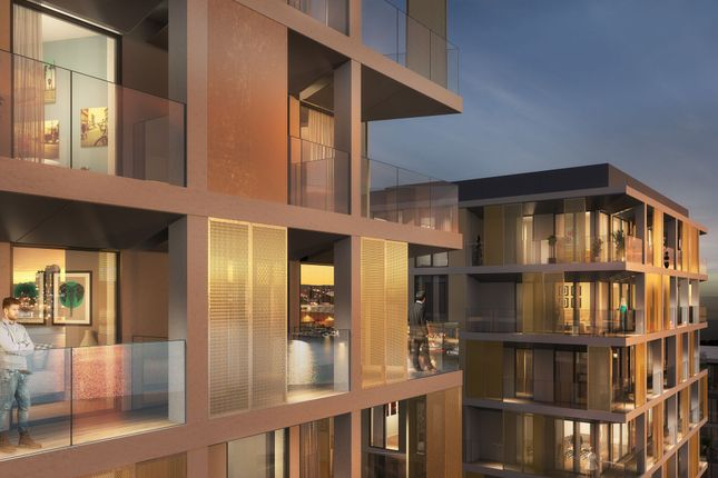 Thumbnail Flat for sale in X1 Chatham Waters Apartments, Gillingham Gate Road, Kent