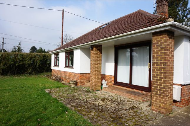 Thumbnail Bungalow for sale in Old Odiham Road, Alton