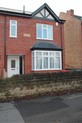 Thumbnail Semi-detached house to rent in Peveril Road, Beeston, Nottingham