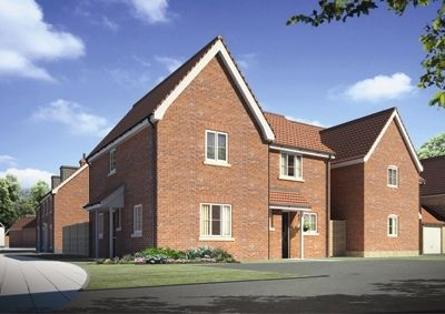 "2 bedroom semi-detached house for sale in ""The Chiswick"" at Carsons Drive, Great Cornard, Sudbury"