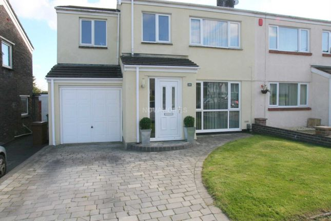 Thumbnail Semi-detached house for sale in Corfe Avenue, Hartley Vale
