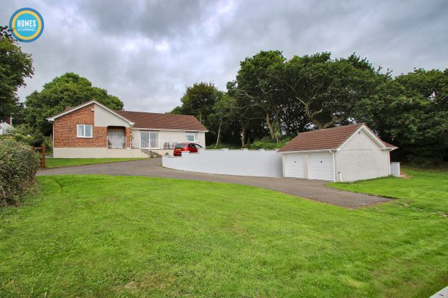 Thumbnail Detached bungalow for sale in Springfield Close, Polgooth