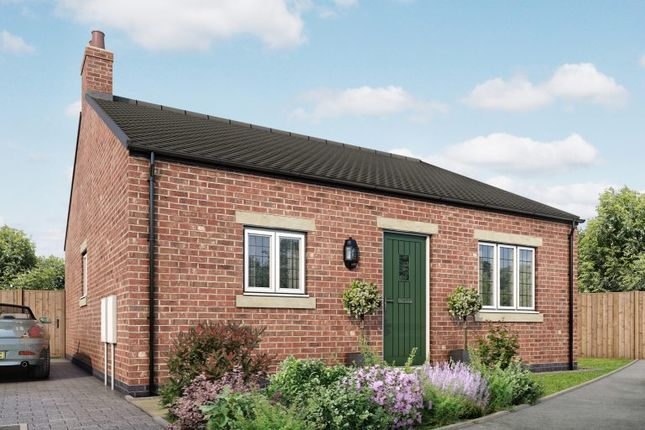 Thumbnail Semi-detached bungalow for sale in Crich Road, Fritchley, Derbyshire