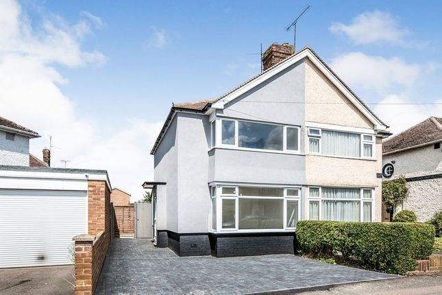 Thumbnail Semi-detached house to rent in Whitefield Avenue, Luton