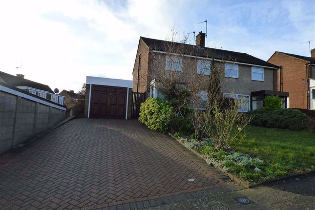 Thumbnail Semi-detached house to rent in Northbank Close, Strood, Rochester