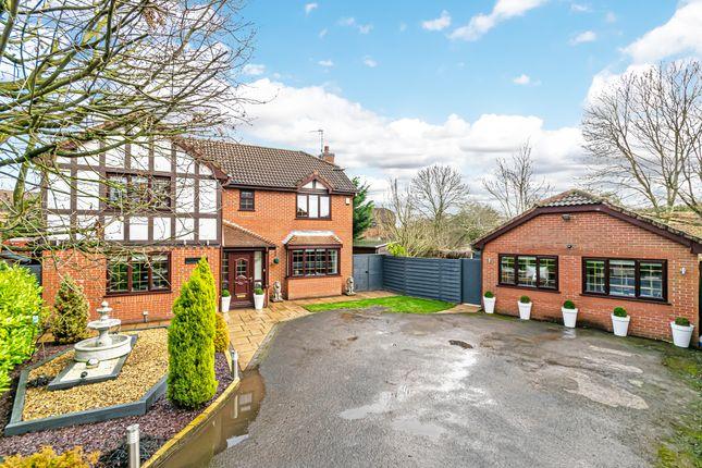 Thumbnail Detached house for sale in Edward Gardens, Woolston, Warrington