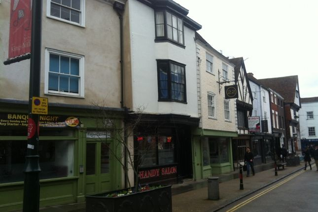 Thumbnail Flat to rent in Palace Street, Canterbury