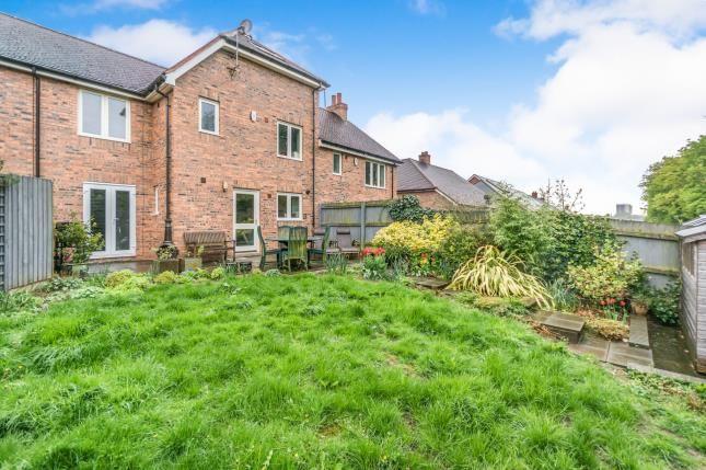 Rear Views of Sunderton Road, Kings Heath, Birmingham, West Midlands B14