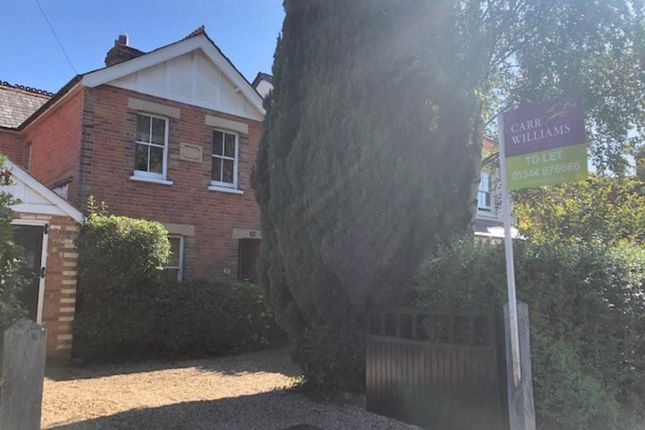 Thumbnail Property to rent in New Road, Ascot, Berkshire