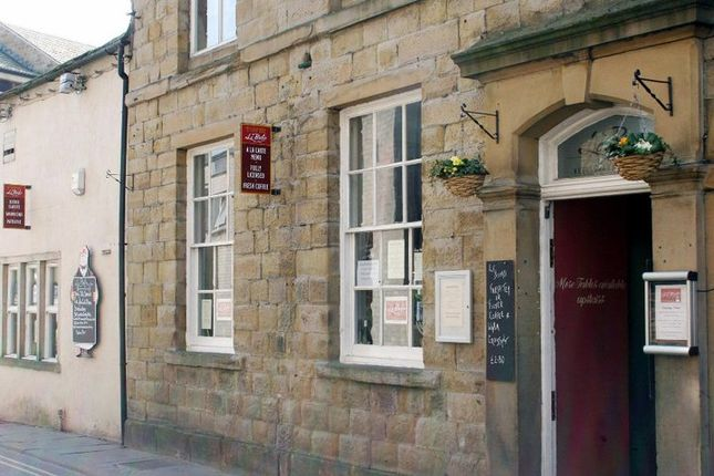 Thumbnail Restaurant/cafe for sale in Jerry Croft, Skipton