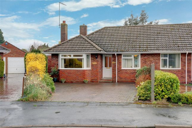 Thumbnail Bungalow for sale in Newland Drive, Droitwich