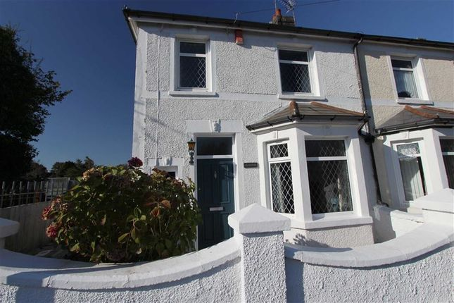 Thumbnail Semi-detached house for sale in Crescent Road, Caerphilly