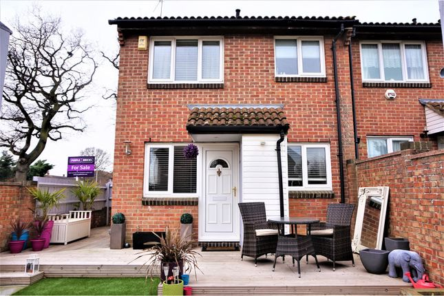 Thumbnail End terrace house for sale in Stephens Close, Romford