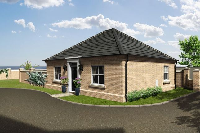 Thumbnail Detached bungalow for sale in Shaftesbury Court, Rectory Road, Lowestoft