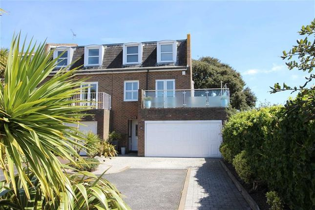 Thumbnail End terrace house for sale in Marine Court, Southsea