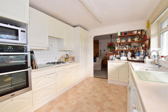 Thumbnail Detached house for sale in Lambourn Way, Lords Wood, Chatham, Kent