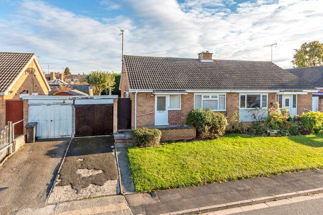 Thumbnail Semi-detached bungalow for sale in Clarence Court, Rushden