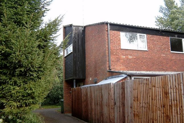 Thumbnail Terraced house for sale in Sutton Close, Redditch