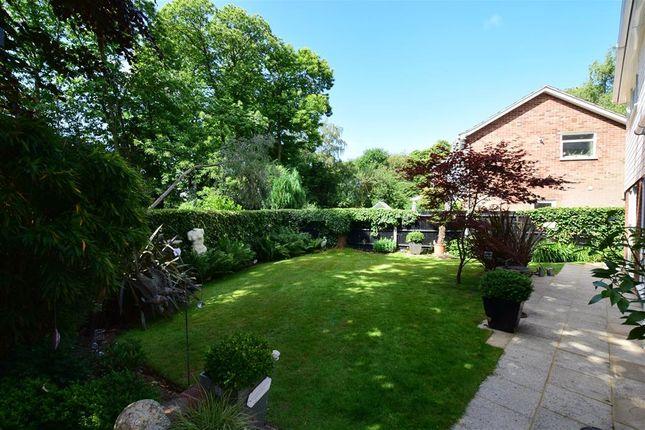 Rear Garden of Birch Crescent, Aylesford, Kent ME20