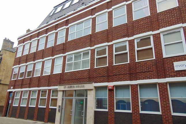 Thumbnail Flat for sale in Priestgate, Peterborough, Cambridgeshire