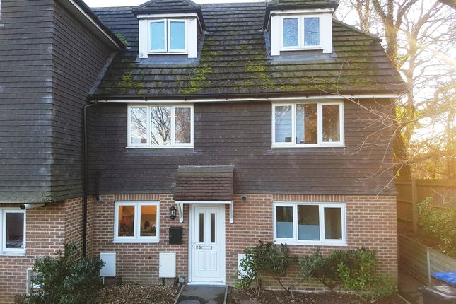 Thumbnail Town house for sale in Knowles Walk, Burgess Hill