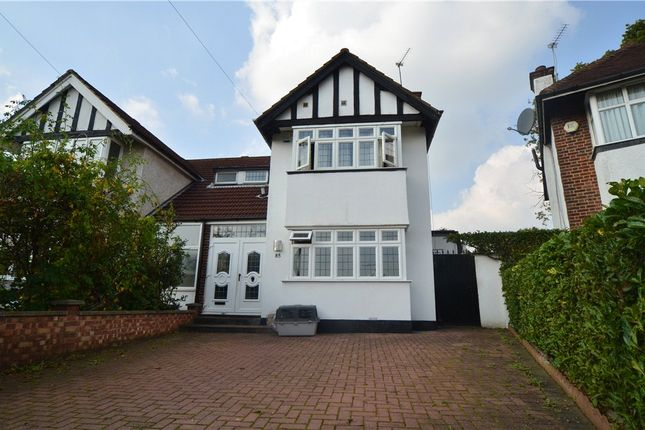 Thumbnail Semi-detached house to rent in Greenway, Pinner, Middlesex