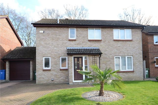 Thumbnail Detached house for sale in Bluethroat Close, College Town, Sandhurst