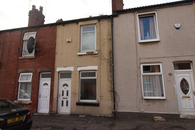 Front of Belmont Street, Rotherham, South Yorkshire S61