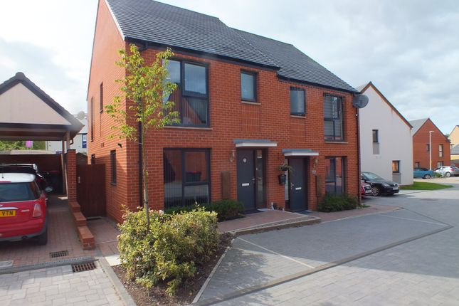 Thumbnail Semi-detached house for sale in Beddall Way, Ketley, Telford