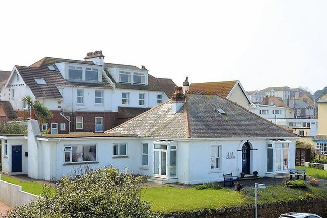 Thumbnail Bungalow for sale in Cliff Road, Roundham, Paignton.