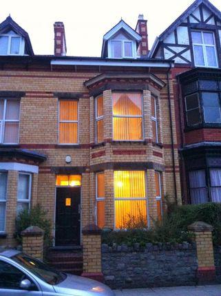 Thumbnail Terraced house to rent in College Road, Bangor, Gwynedd