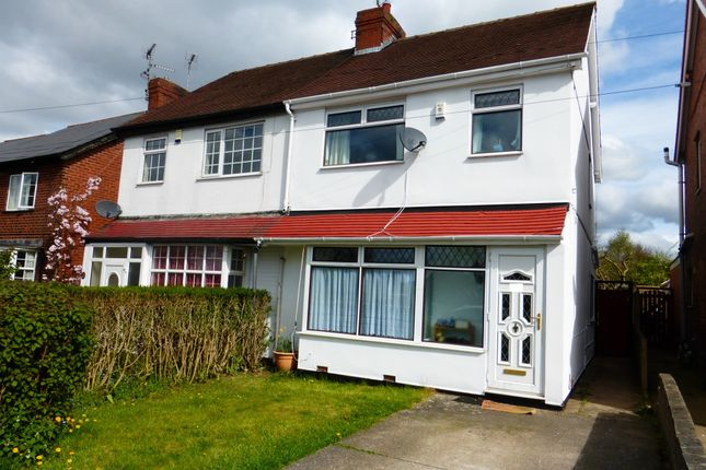 Thumbnail Semi-detached house for sale in Southwell Road East, Rainworth, Mansfield
