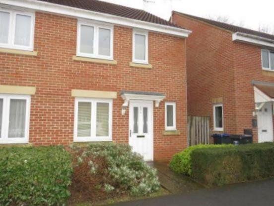 Thumbnail Semi-detached house to rent in Rudman Park, Chippenham