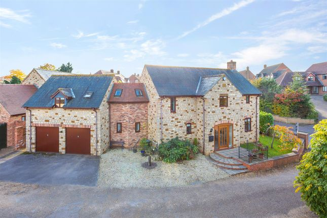 Thumbnail Detached house for sale in Hill House Court, Pattishall, Towcester