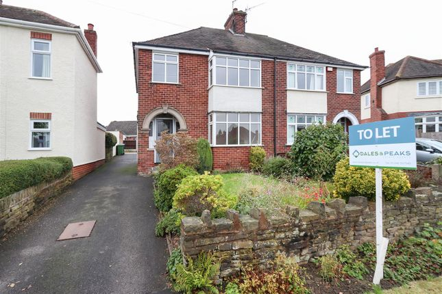 Thumbnail 3 bed property to rent in Queen Mary Road, Chesterfield