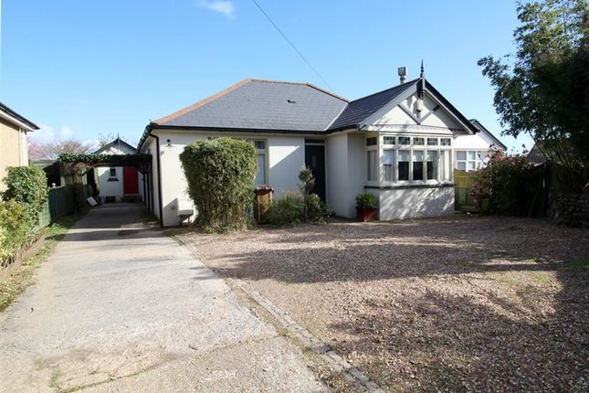 Thumbnail Detached bungalow for sale in Widey Lane, Crownhill, Plymouth