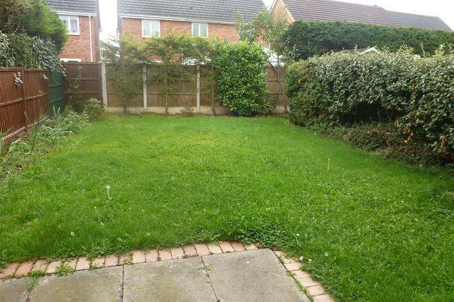 Garden of Orchard Close, Boulton Moor, Derby DE24