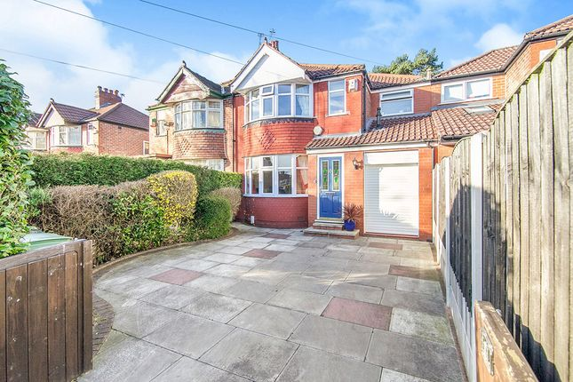Thumbnail Semi-detached house for sale in Woodhouse Lane East, Timperley, Altrincham