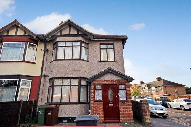 Thumbnail Terraced house to rent in Whalebone Lane North, Chadwell Heath, Romford