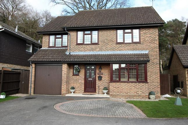 Thumbnail Detached house for sale in Trenton Close, Frimley