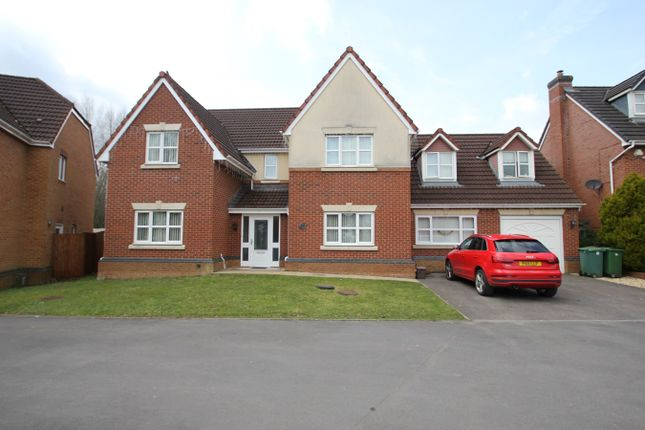 Thumbnail Detached house for sale in Clos Padrig, St Mellons, Cardiff