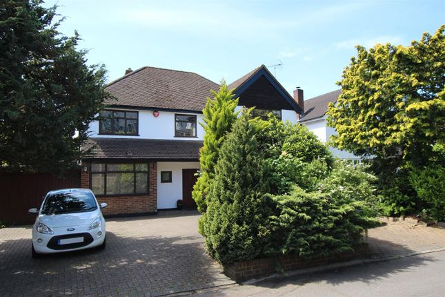 Thumbnail Detached house for sale in Wyndcroft Close, Enfield