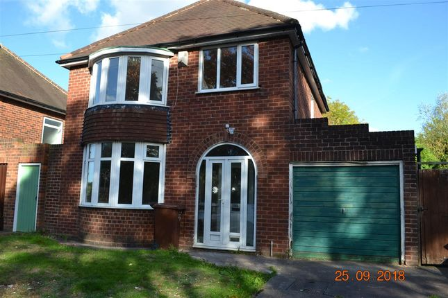 Thumbnail Detached house to rent in Wilkes Avenue, Walsall