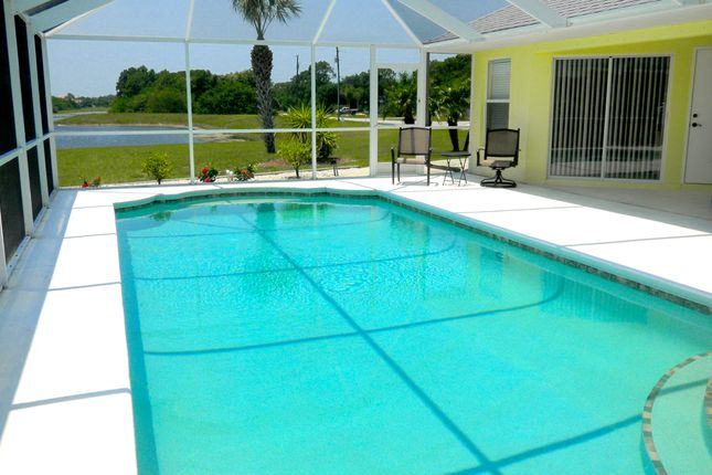 Oversized Pool of Rotonda Circle, Rotonda West, Port Charlotte County, Florida, United States