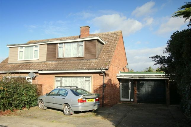 Thumbnail Semi-detached house for sale in Orchard Road, Eaton Ford, St. Neots